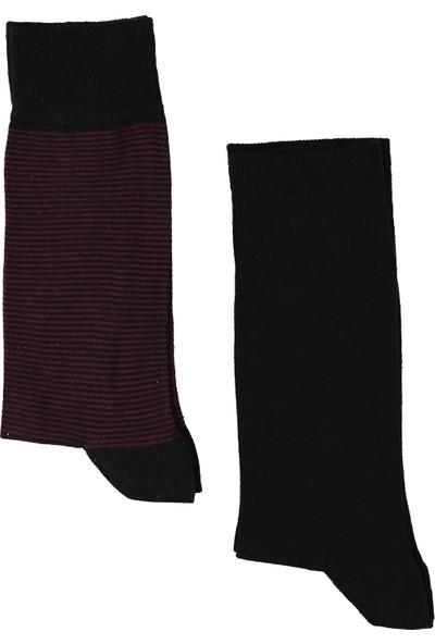 Kiğılı 2'li Desenli Çorap