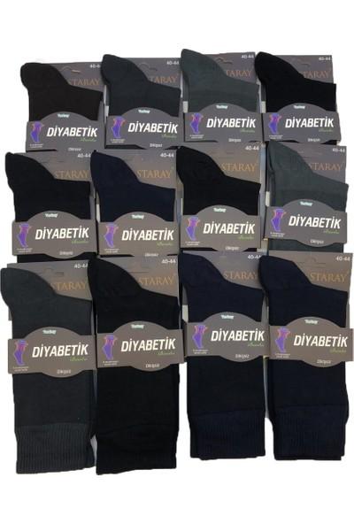 Staray 12'li Diyabetik Çorap