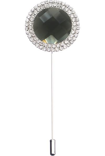 Fsg Takı Gümüş Kaplama Vizon Şal Iğnesi