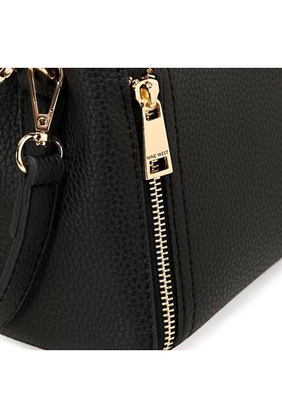 Nine West Zippo Siyah Kadın Çapraz Çanta