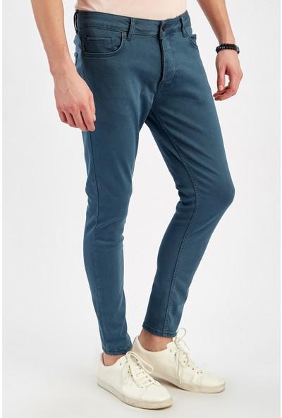 Manche Dark Blue Erkek Pantolon