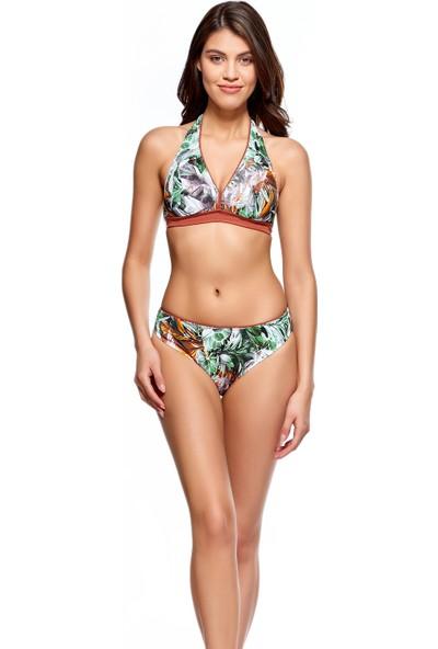 Louren Geniş Üçgen Bikini Takımı