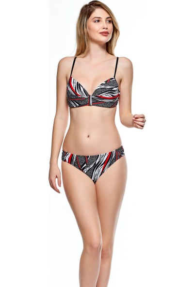Louren Yarım Dolgulu Kaplı Bikini Tk