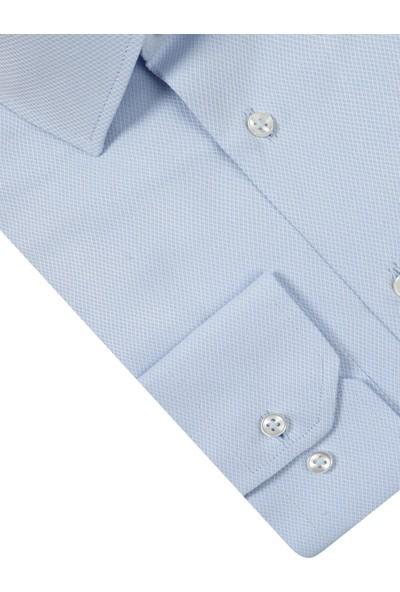 D's Damat Regular Fit Mavi Gömlek
