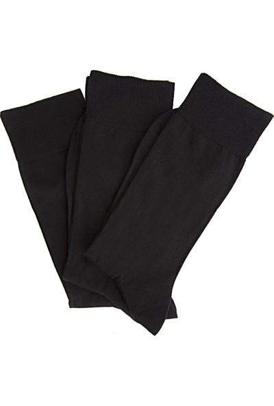 D's Damat Siyah Çorap Set