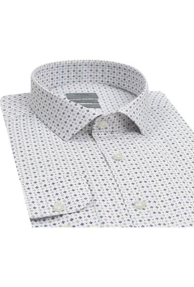 TWN Slim Fit Beyaz Gömlek