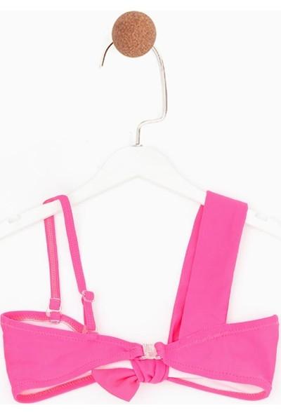 Tyess Kız Çocuk Pembe Bikini