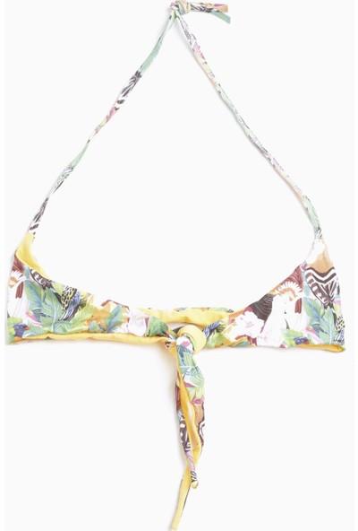 Tyess Kız Çocuk Desenli Bikini