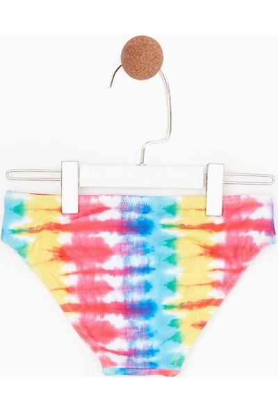 Tyess Kız Çocuk Fuşya Bikini