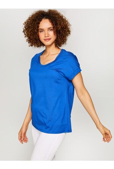 Faik Sönmez Yuvarlak Yaka T-Shirt 60018