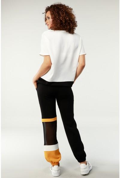 Nilmark Kadın Siyah Pantolon