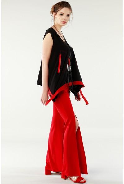 Nilmark Kadın Kırmızı Pantolon
