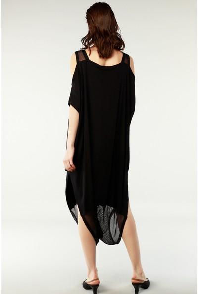 Nilmark Kadın Siyah Elbise