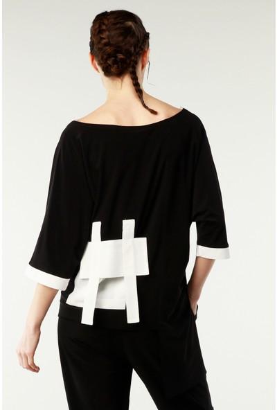Nilmark Kadın Siyah Bluz