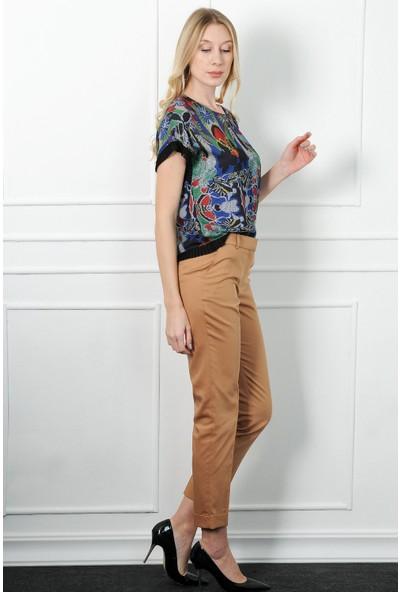 Birelin Kadın Camel Pantolon
