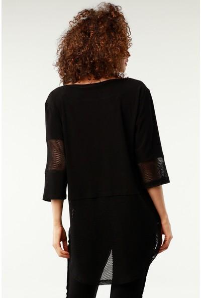 Nilmark Kadın Siyah Tunik
