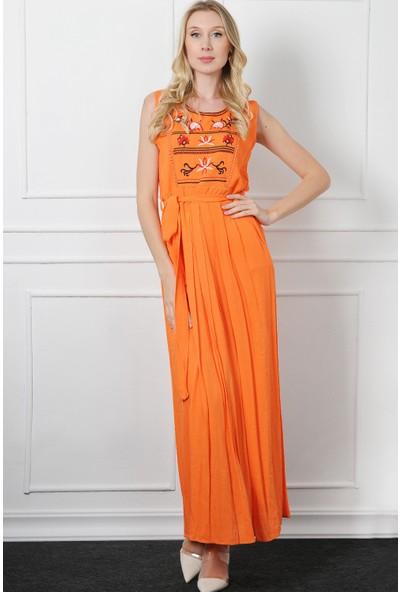 Pinkmark Kadın Orange Elbise