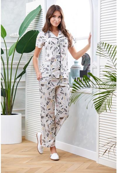 Dowry Önden Düğmeli Pijama Takımı