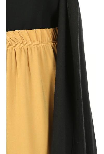 Miostil Ass Lastikli Salaş Pantolon