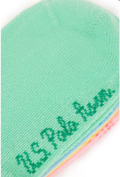 U.S. Polo Assn. Kız Çocuk Çorap 50222159-Vr054