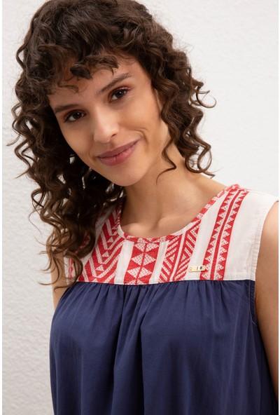 U.S. Polo Assn. Kadın Gömlek Kısakol 50218826-Vr059