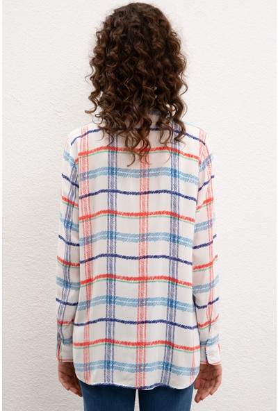U.S. Polo Assn. Kadın Gömlek Uzunkol 50218918-Vr013