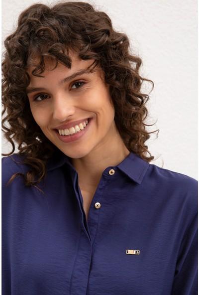 U.S. Polo Assn. Kadın Dokuma Elbise 50218488-Vr033