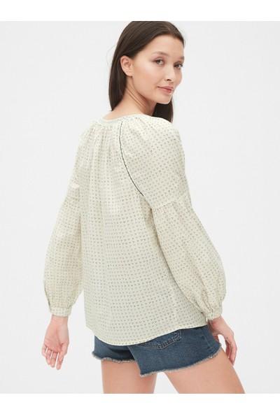 Gap Kadın Desenli Bluz
