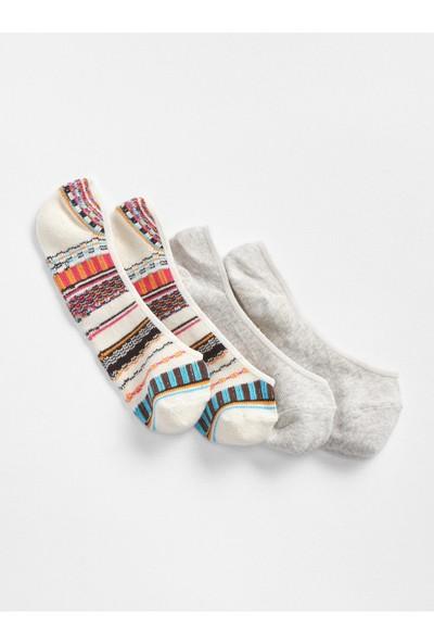 Gap 2'li Babet Çorabı