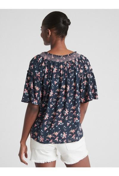 Gap Çiçek Desenli Bluz