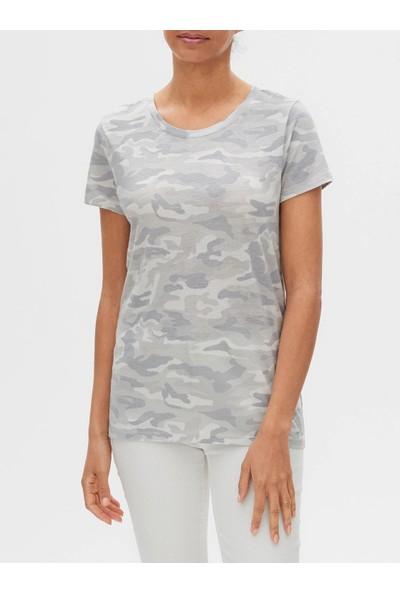 Gap Favorite Desenli Sıfır Yaka T-Shirt