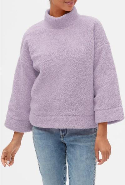 Gap Sherpa Pullover Sweatshirt