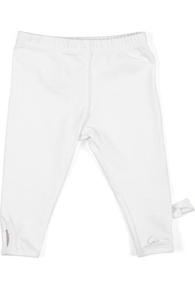 Catimini Spirit Couture Minikid Tayt Beyaz 2 Yaş
