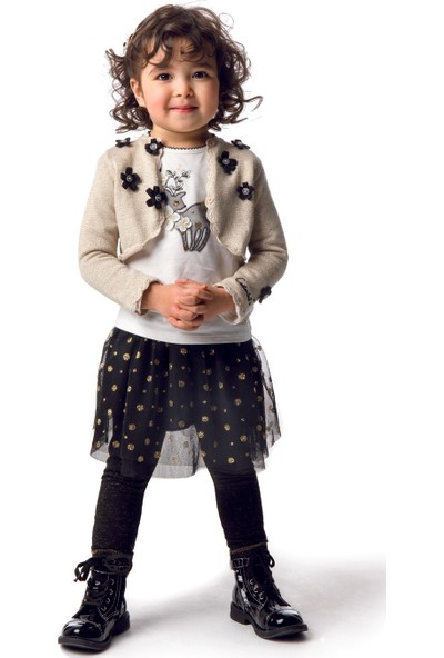 Catimini Spirit Couture Minikid Tayt Siyah 12 Ay