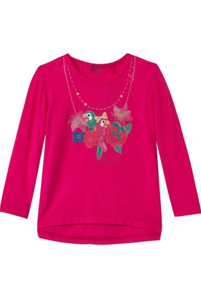 Catimini Sportswear Minikid Tişört Fuşya 6 Yaş