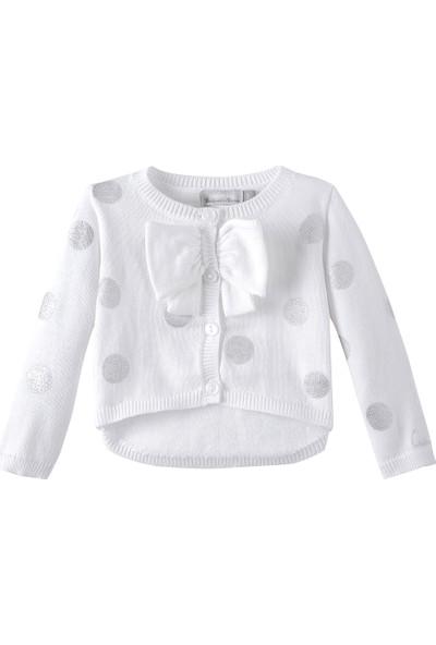 Catimini Spirit Couture Newborn Hırka Beyaz 12 Ay
