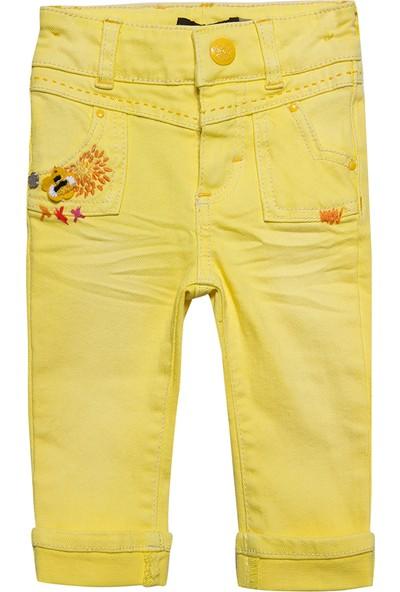 Catimini Spirit Ethnique Minikid Pantolon Açık Sarı 6 Yaş
