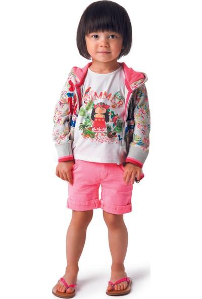 Catimini Sportswear Minikid Bermuda Pembe 12 Ay
