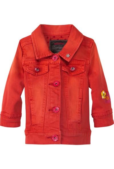 Catimini Spirit Ethnique Minikid Ceket Kırmızı 3 Yaş