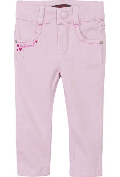 Catimini Spirit Denim Minikid Pantolon Şeker Pembe 3 Yaş