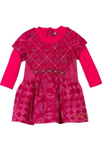 Catimini Minikid Elbise Fuşya 18 Ay