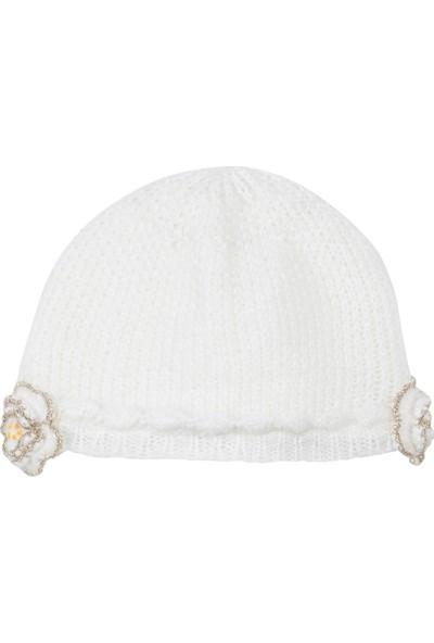 Catimini Spirit Couture Minikid Şapka Ekru 50