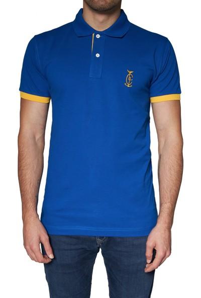 Bagazzi Marka Polo T-Shirt Lacivert