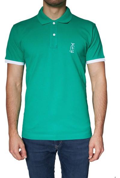 Bagazzi Marka Polo T-Shirt Yeşil