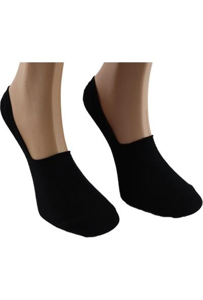 Saby 6'lı Saby Silikonlu Babet Çorabı