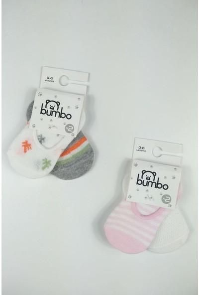 Blueberry Kız Bebek 2'li Babet Çorap (4 Çift)