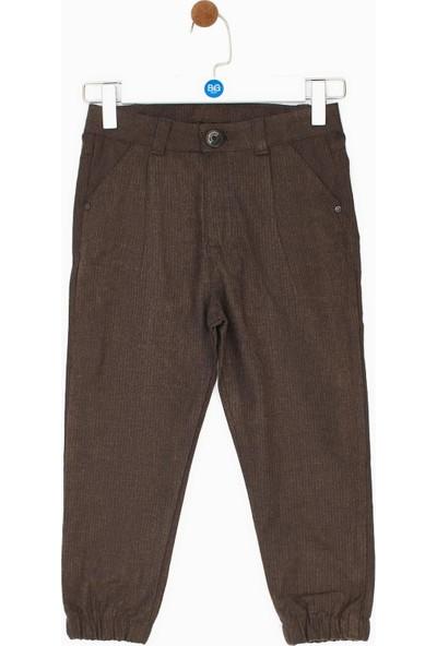 Nebbati Erkek Çocuk Kahve Pantolon
