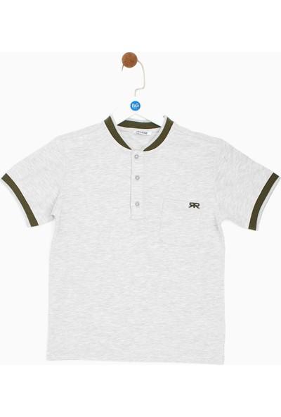 Riccione Erkek Çocuk Gri Melanj T-Shirt