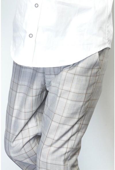 Nebbati Erkek Çocuk Ekose Pantolon