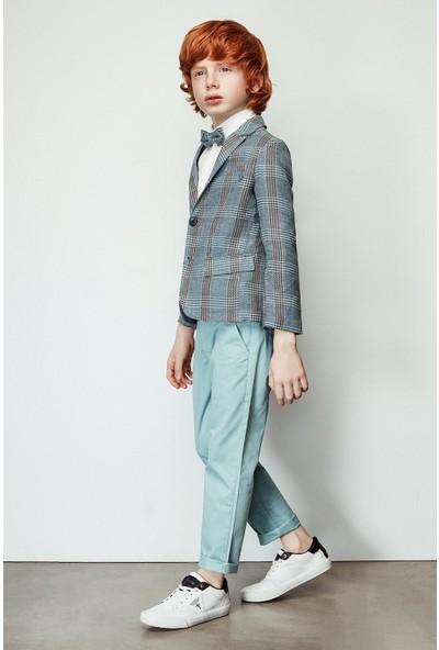 Nebbati Erkek Çocuk Yeşil Pantolon